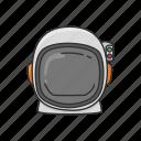 astronaut, cosmonaut, helmet, rocket scientist, space, space helmet