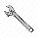 handyman, mechanic, repairman, spanner, tools, wrench icon