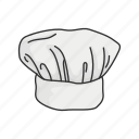 chef, cook, cooking, culinary, food, hat, toque icon