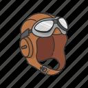 aircraft pilot, oxygen mask, pilot, pilot gear, tool icon