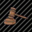 court, gavel, hammer, hearing, judge, justice, mallet