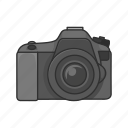 camera, digital camera, dslr, photograph, photography, pictures icon