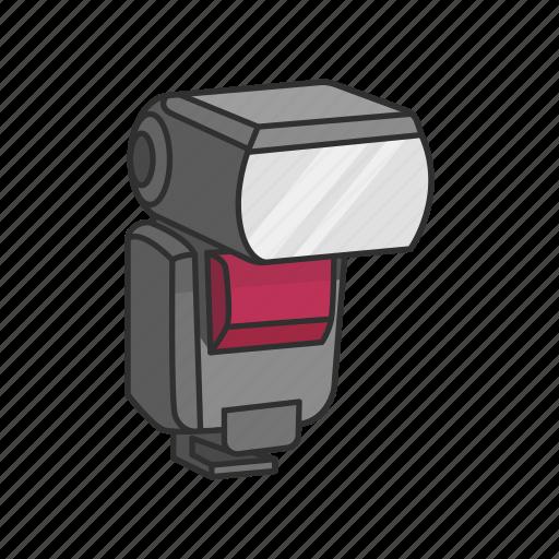 Camera, camera accessory, camera addon, flash, photography icon - Download on Iconfinder