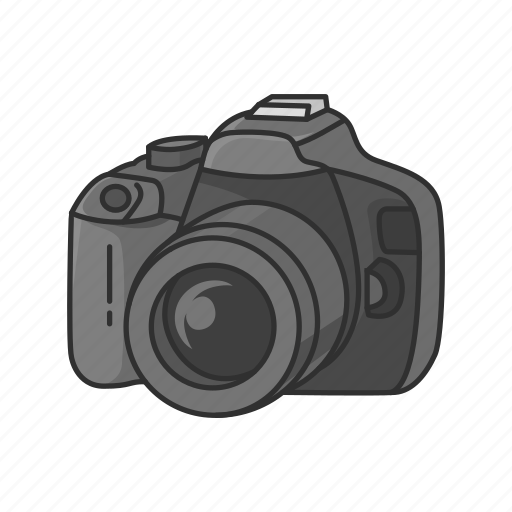 Camera, dslr, photograph, photography, photos icon - Download on Iconfinder