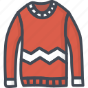 clothes, man, outwear, shirt, sweater, top icon