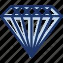 diamond, gem, ring, ruby icon icon
