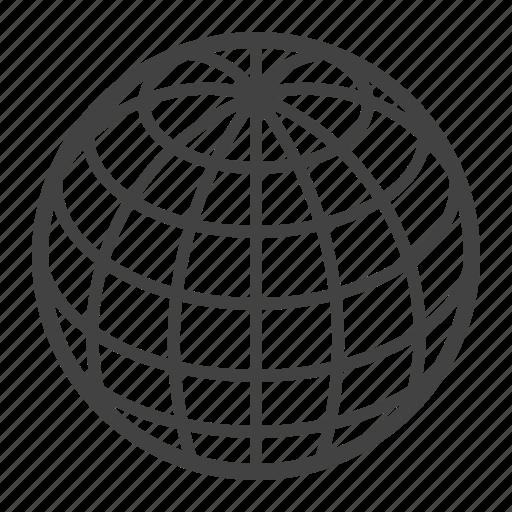 geometry, globe, orb, sphere, topology icon