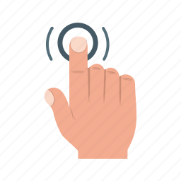 click, finger, hand, mouse, phone, smartphone, tap icon