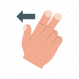 finger, gesture, gestures, hand, scroll, swipe, up icon