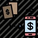 cashless, deposit, ewallet, money, transfer