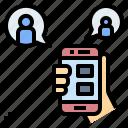 application, chat, network, onilne, social