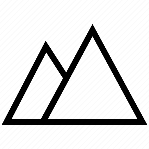 ahram-e-misr, egypt, giza, misr, pyramids icon