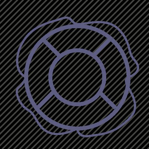 circle, help, lifebuoy, round, saving, support, tourism icon