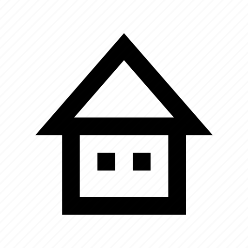 cottage, house, hut, shed, villa icon