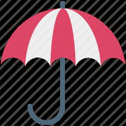beach umbrella, canopy, parasol, rain protection, sun protection, sunshade, umbrella icon