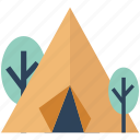 beach tent, camping, camping tent, hill station, outdoors, tent, tent house icon