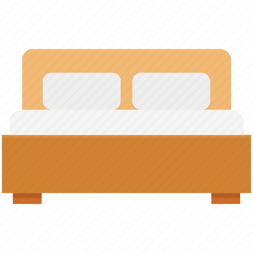 bed, bedroom, furniture, hotel room, relax, rest, sleep icon