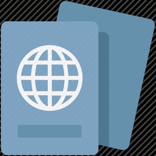 Passport, passport attestation, tourism, travel id, travel pass, travel permit, visa icon - Download on Iconfinder