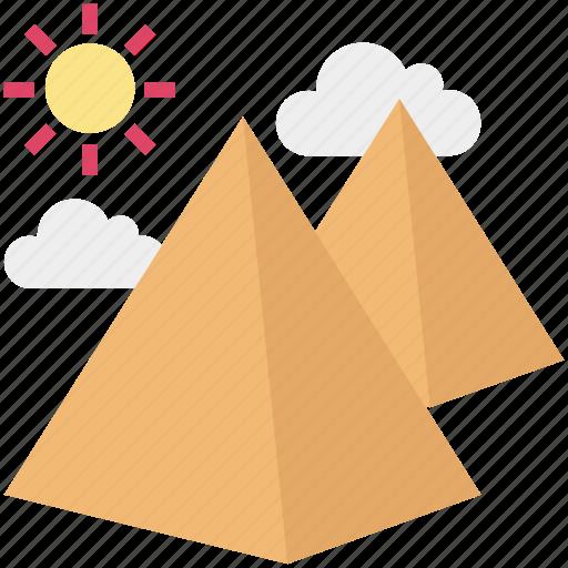 egypt, egypt pyramids, giza pyramid, landmark, monument, pyramid, travel icon