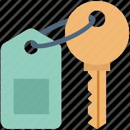 home key, key, key chain, key sign, mortgage, real estate, unlocking icon