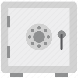 bank locker, bank safe, bank vault, locker, money box icon