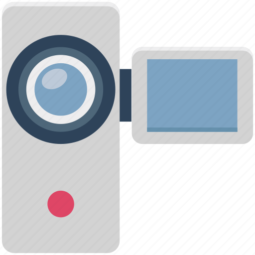 camcorder, device, film, handycam, movie, video camera, video recording icon