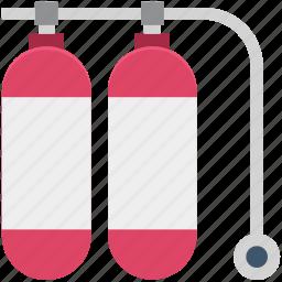breathing tank, nos, oxygen storage, oxygen tank, scuba tank, tank icon