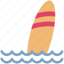 beach, ocean, sea, summer, summertime, surfboard, surfing