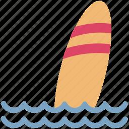 beach, ocean, sea, summer, summertime, surfboard, surfing icon