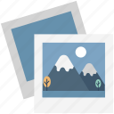 image, landscape, photo, photo frame, photograph, photography, picture icon