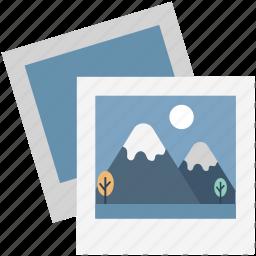 image, landscape, photo, photo frame, photograph, photography, picture icon
