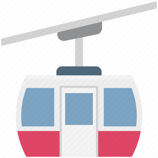 Aerial lift, chairlift, detachable, ropeway, ski lift icon - Download on Iconfinder