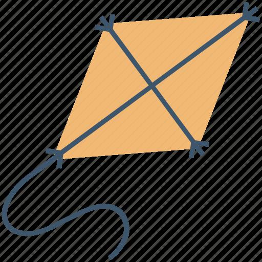 Fly kiting, kite, kite flying, kiting, wind kite icon - Download on Iconfinder