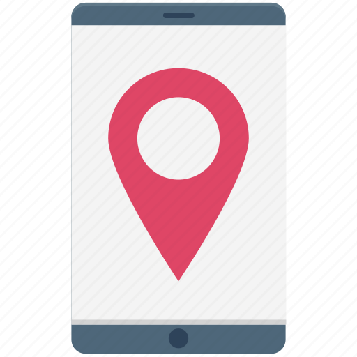 gps device, gps tracker, map pin, mobile, navigation, online map icon