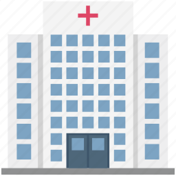 building, clinic, hospital, medical center, medical facility icon