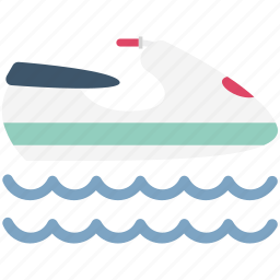 boat, boat driving, boating, hovercraft, sea, ship, watercraft icon