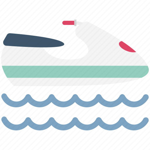 Boat, boat driving, boating, hovercraft, sea, ship, watercraft icon - Download on Iconfinder