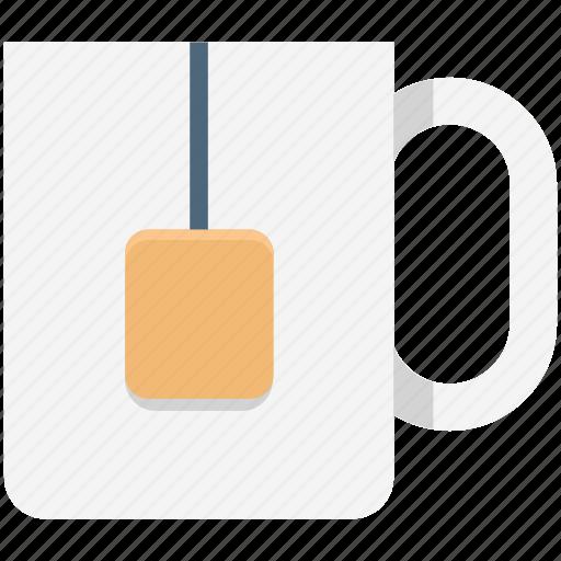 Hot drink, instant tea, tea bag, tea cup, tea mug icon - Download on Iconfinder