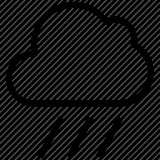 cloud, rain, raining, rainy day, weather icon
