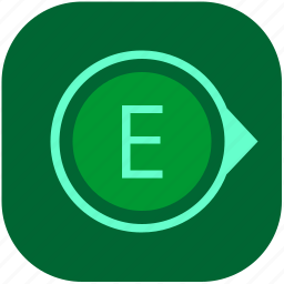 compass, east, navigation, navigator, side icon