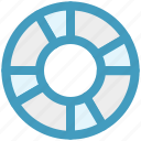beach, lifebelt, lifebuoy, lifeguard, lifesaver, summer icon