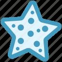 ocean, plant, sea, star, under, water icon