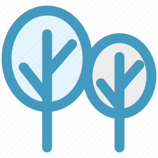 forest, garden, nature, park, trees icon