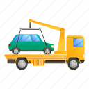 business, car, construction, tow, truck