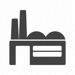 building, factory, industrial, plant, structure, town, work icon