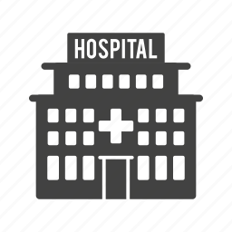 emergency, hospital, medical, office, room, town, waiting icon