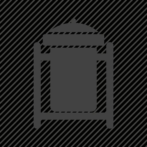 dustbin, recycle, recycle bin, town, trash, waste, waste bin icon