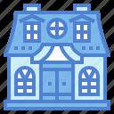 dollhouse, house, replica, toy