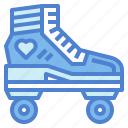 roller, shoe, skate, sports, toy icon