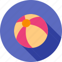ball, beach, colorful, play, sport, tennis, yellow icon